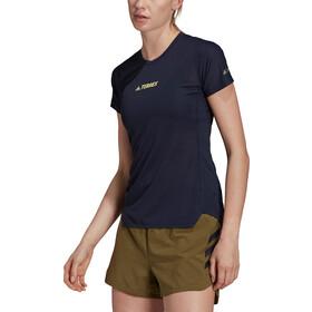 adidas TERREX Agravic Parley Allaround T-Shirt Women, blauw